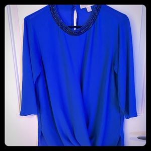 Michael Kors Blue Blouse